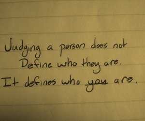 quote, judging, and text image