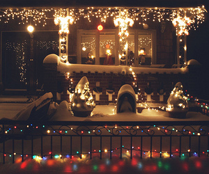 lights, natale, and cute image