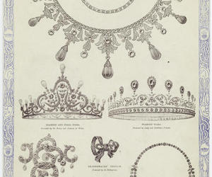jewels, royalty, and victorian image