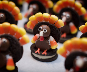 turkey, thanksgiving, and food image