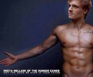 josh hutcherson, Hot, and peeta image