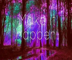 colorful, forest, and hipster image
