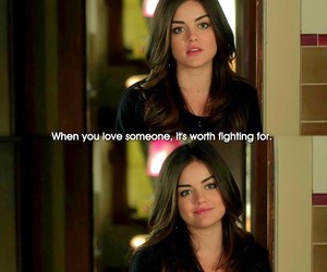 quote, aria, and lucy hale image