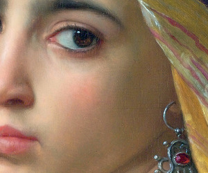 william bouguereau, 1875, and girl with a pomegranate image