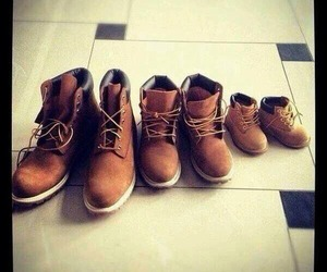 family, shoes, and baby image