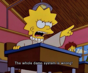 lisa, the simpsons, and quotes image