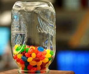 colourful, food, and jelly beans image