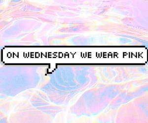pink, mean girls, and pastel image