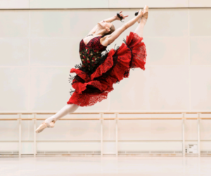 ballet, ballerina, and pointe shoes image