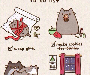 holidays, kitty, and cute image
