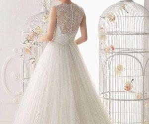 wedding, wedding dress, and beautiful image