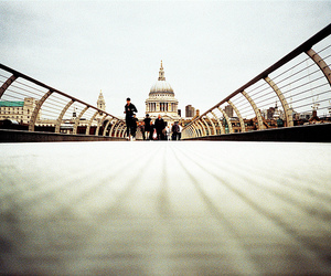 bridge, london, and millenium image