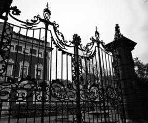 gate and wrought iron image