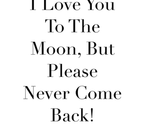 in love, moon, and with you image