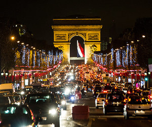 paris, night, and frence image