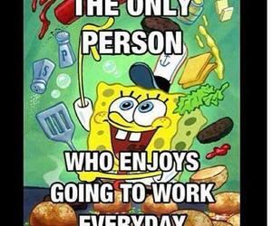spongebob, cartoon, and funny image