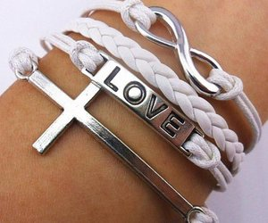 bracelet, love, and brooches image