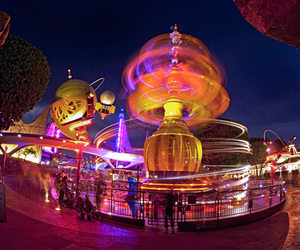 disneyland and tomorrow land image