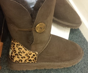 brown, panther, and uggs image