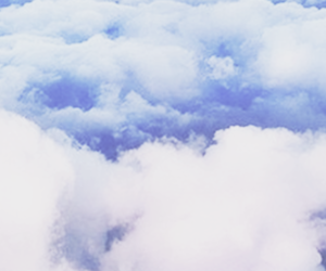 header, clouds, and pink image