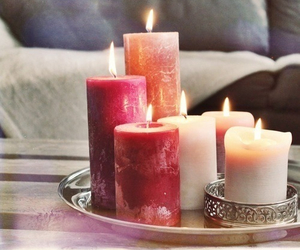 candles, decor, and house image