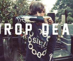oliver sykes, bmth, and drop dead image