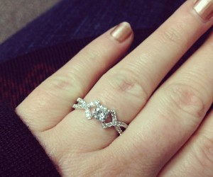 jewelry, promise ring, and love image
