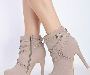 ankle, boots, and heels image