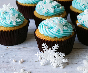 food, winter, and muffin image