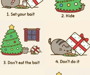 cat, christmas, and tutorial image