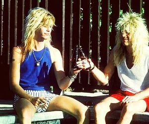 Guns N Roses, steven adler, and duff mckagan image