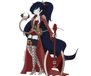 marceline, adventure time, and steampunk image