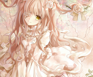 anime, roses, and rozen maiden image