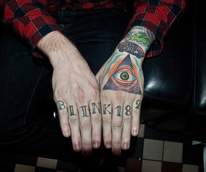 tattoo, blink 182, and neil westfall image