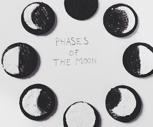 moon, of, and oreos image