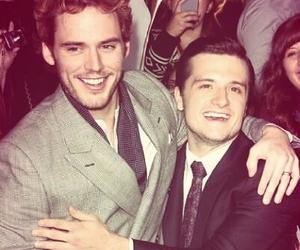 peeta, finnick, and cute image