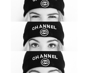 girl, channel, and eyes image
