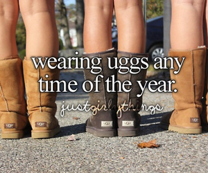 summer, uggs, and love image