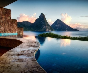 mountains and paradise image