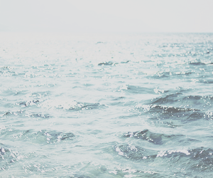 header, ocean, and blue image