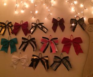 bows, cheer, and life image