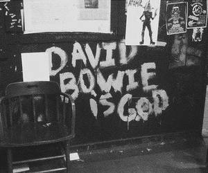 david bowie, god, and bowie image