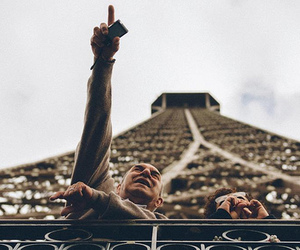 france, paris, and vintage image