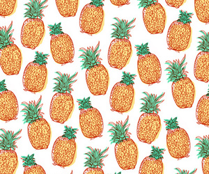 fruit, pineapple, and background image