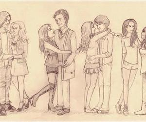 pretty little liars, pll, and couple image