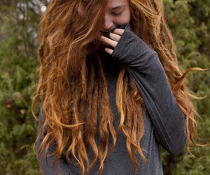 dreads, hair, and ginger image