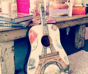 guitar, inspiration, and music image