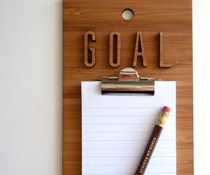 business, goal, and organize image
