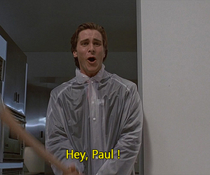 american psycho and movie image