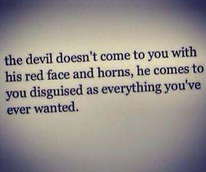 Devil, hope, and quotes image